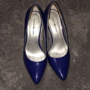 Blue Pointed Heel